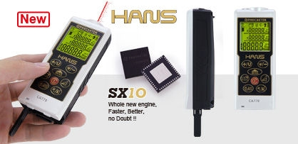 Ruční laserový dálkoměr HANS CA770
