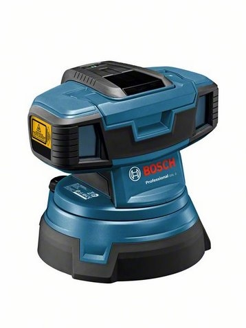 Bosch GSL 2 Čárový ( podlahový ) laser + L-Boxx + set 1 Li-Ion 1