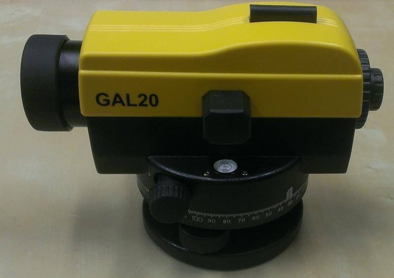 Nivelační sada GAL20 (nivelační přístroj + stativ + lať)